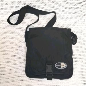 Derek Alexander nylon crossbody bag black